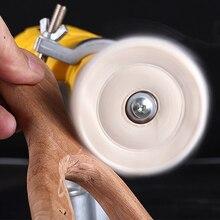 """Roue de polissage avec miroir en coton, meules de polissage 2 """" 12"""", roue de polissage en coton, or et argent"""