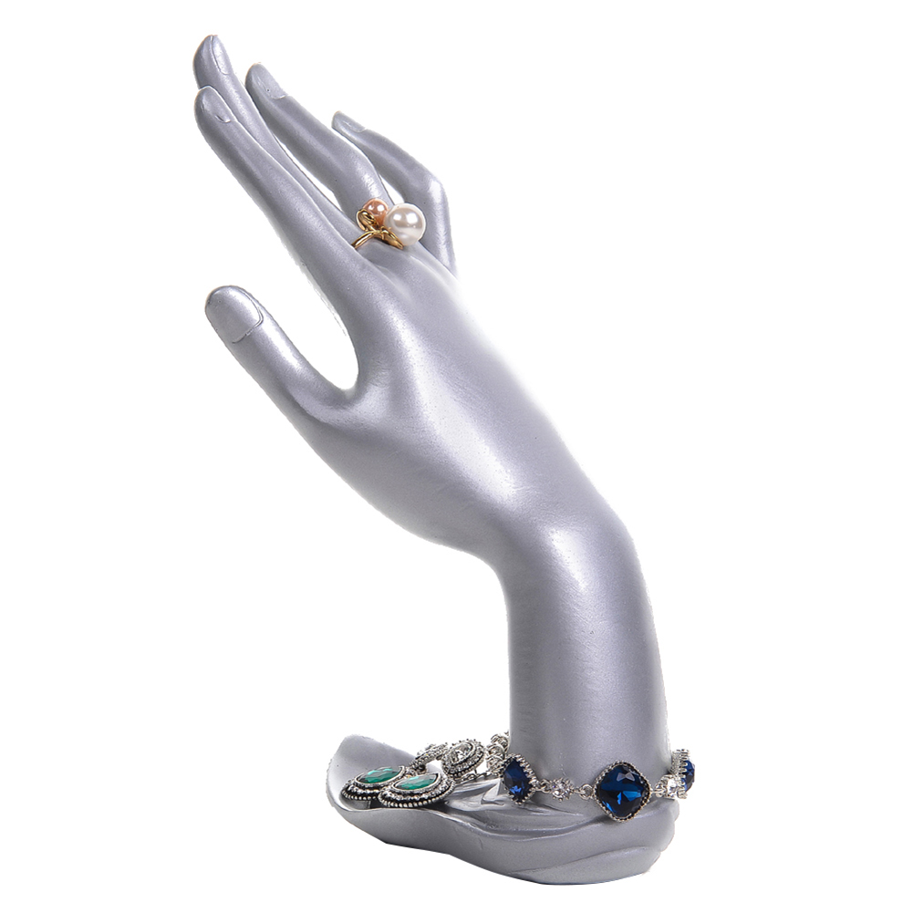 Graceful Display Jewelry Stand Mannequin Hand Finger Chain Ring Bracelet Display Stand Holder New