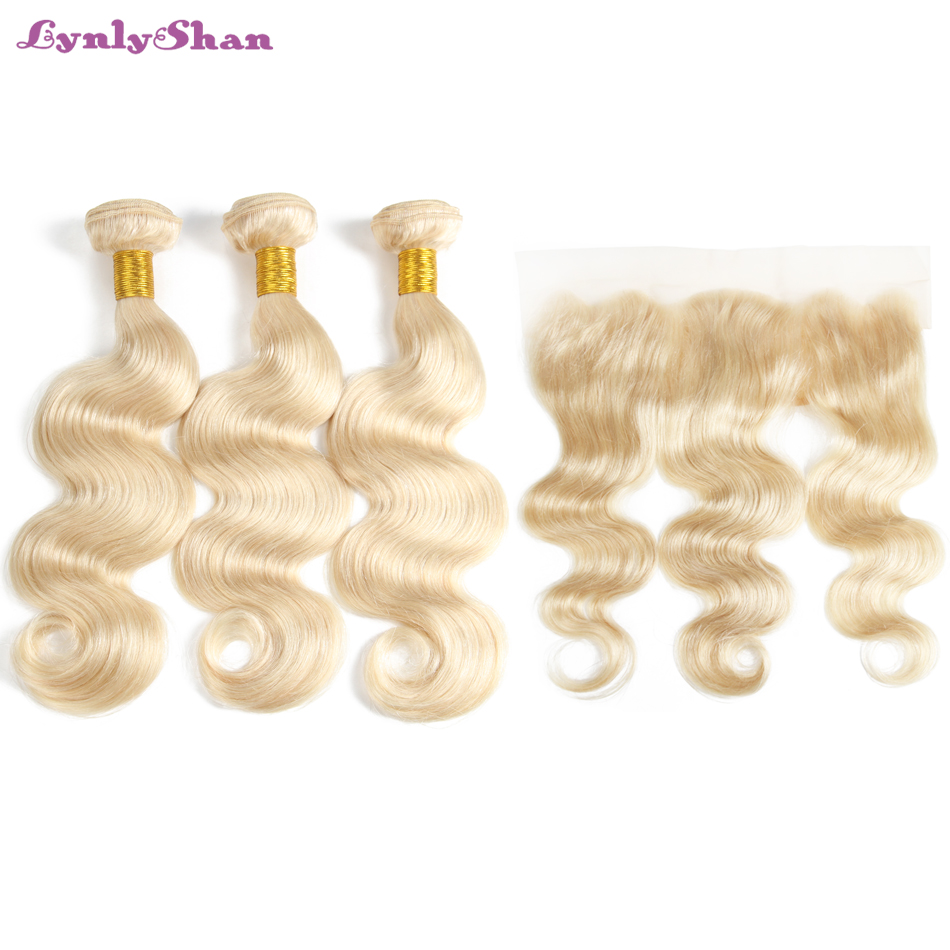 remy hair with blonde hair