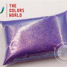 TCR401 американская фантазия переливающийся фиолетовый цвет 0,2 мм Размер 008 блестящая Пыль для ногтей Гель-лак художественный или другие DIY украшения