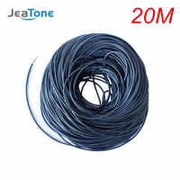 JeaTone Video Verlängern Kabel 4x0,12mm 20 meter Verzinnt kupfer Draht Kostenloser versand