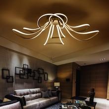 Moderna lámpara de la vela led lámparas Fixture iluminación lustres de cristal párr sala de janta comedor dormitorio sala de estar