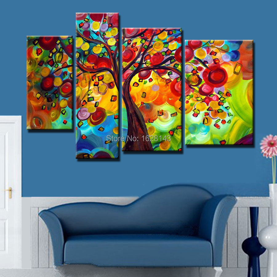 4 season wall art promotion shop for promotional 4 season for Contemporary mural