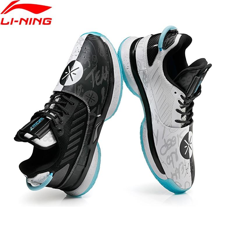 Li-Ning Hommes WOW 7 D'équipe Pas Sleep' ballon de basket professionnel semelle de chaussure Doublure NUAGE BOUNSE + chaussures de sport Sneakers ABAN079 XYL212