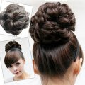 Hot sale Girl's Lady Woman Hairpiece Hair wave Bun Wave Bun Extensions