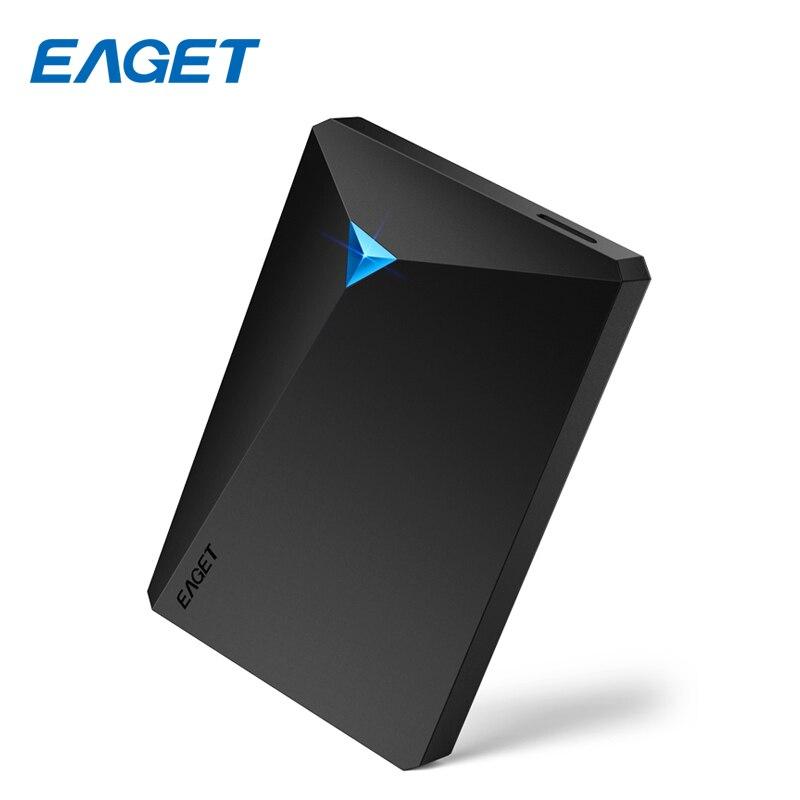 Eaget G20 Cryptage Externe Disque dur 2 tb Haute Vitesse Antichoc USB 3.0 Disque dur 1 tb Ordinateur De Bureau Portable HDD 2.5 500 gb