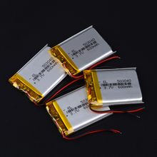 Полимерная батарея 600 mah 3,7 V 503040 умный дом MP3 колонки литий-ионная батарея для dvr, gps, mp3, mp4, DVD power bank, динамик