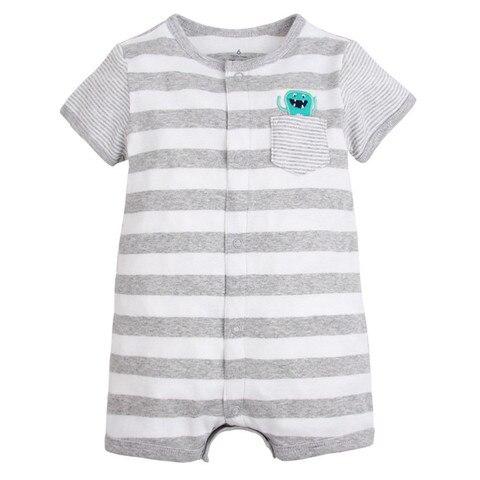 marcas de verao bebe recem nascido macacao macacoes de algodao bebe dos desenhos animados manga