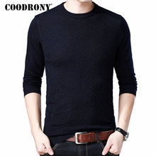 COODRONY Men Clothes 2018 Autumn Winter Soft Warm Pullover O-Neck Cashmere Wool