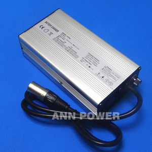Image 5 - 36V 4A charger Output 42V 4A aluminum case charger Used for 36V Li ion battery charging Hight Power Smart Charger