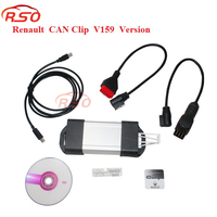 Best Price CAN Clip V165 for Renault Diagnostic Interface for Renault Can Clip OBD2 Diagnostic Tool CAN CLIP free shipping