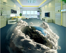 beibehang papel de parede 3d wallpaper High quality aesthetical interior wall paper 3D personality earth bathroom floor tapety beibehang large fashion personality papel de parede 3d wallpaper watermark 3d for interior wall paper floor ceiling background