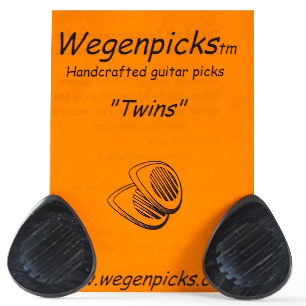 Wegenpicks Twins 2.5mm / 3.5mm mini-Gypsyjazzpick Guitar Picks, 1 piece