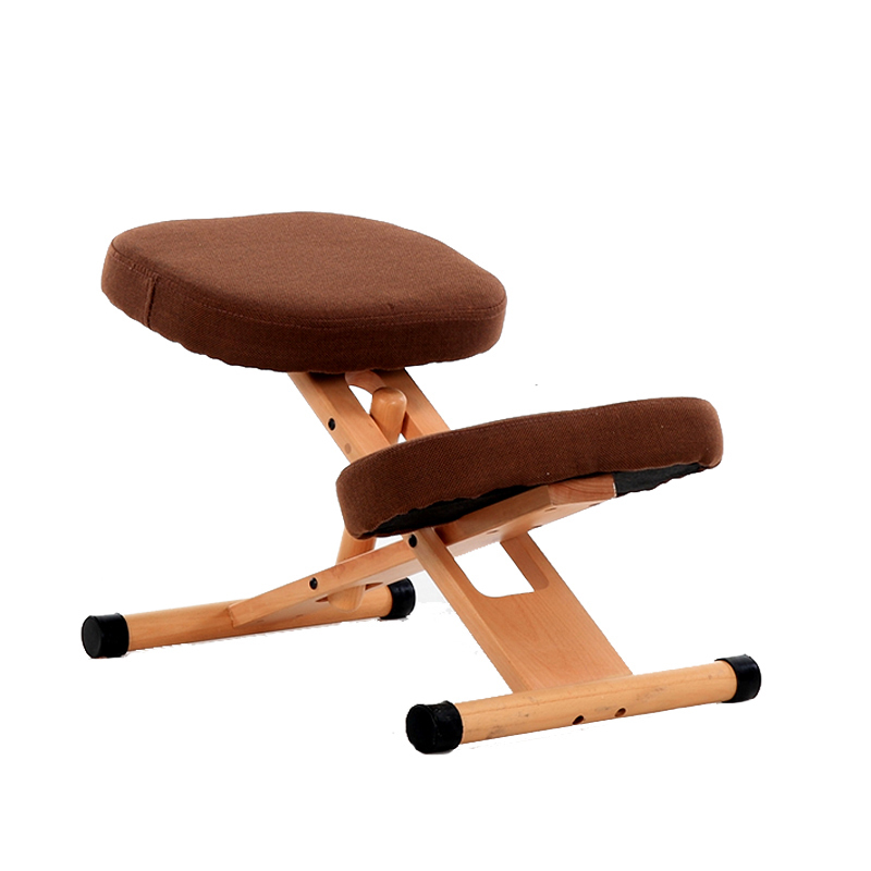 Ergonomic Kneeling Chair Stool Wood Office Posture Support Furniture Ergonomic Wooden Chair Balancing Body Back Pain Knee Stool