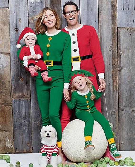 christmas-family-pajamas-set-santa-adult-kids-women-sleepwear-nightwear-cosplay-2016-long-sleeve-home-wear
