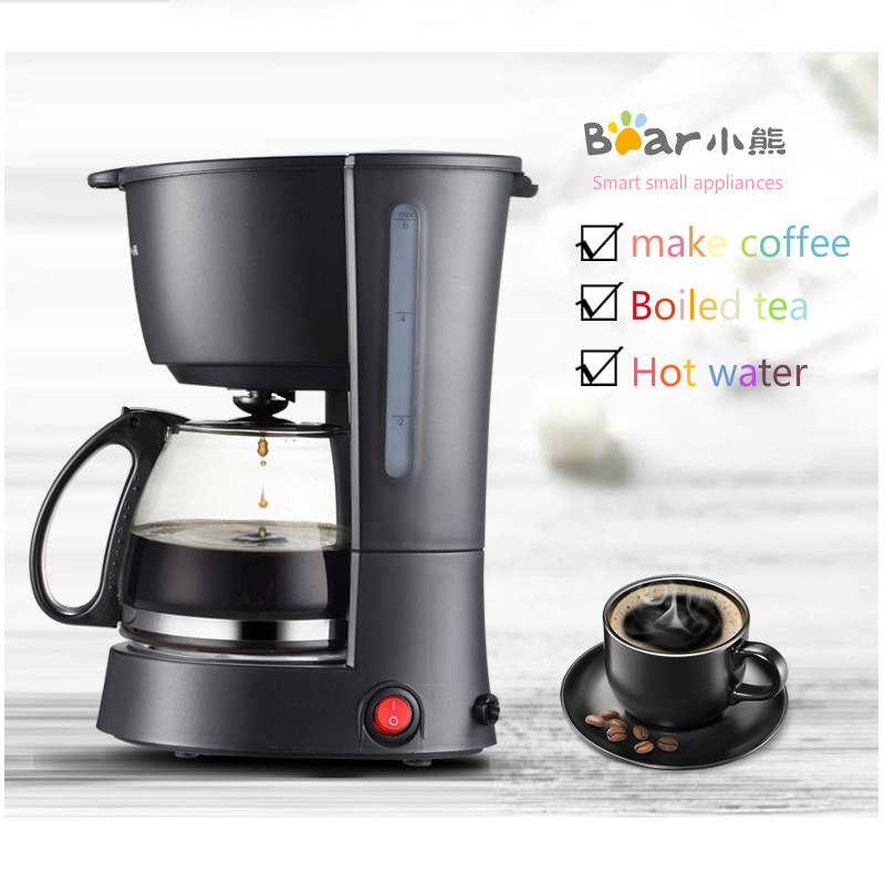 2018 Household American Dripping Type Coffee Machine Fully Automatic Heat Preservation Coffee Makr Free Shipping american household semi automatic coffee machine cooking heat preservation coffee maker 1 25l capacity coffee making machine