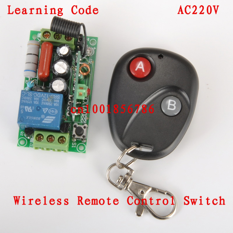 Remote Control Switch AC220V 1CH Lighting Switches Remote ON OFF Light Lamp SMD Power Remote Switch
