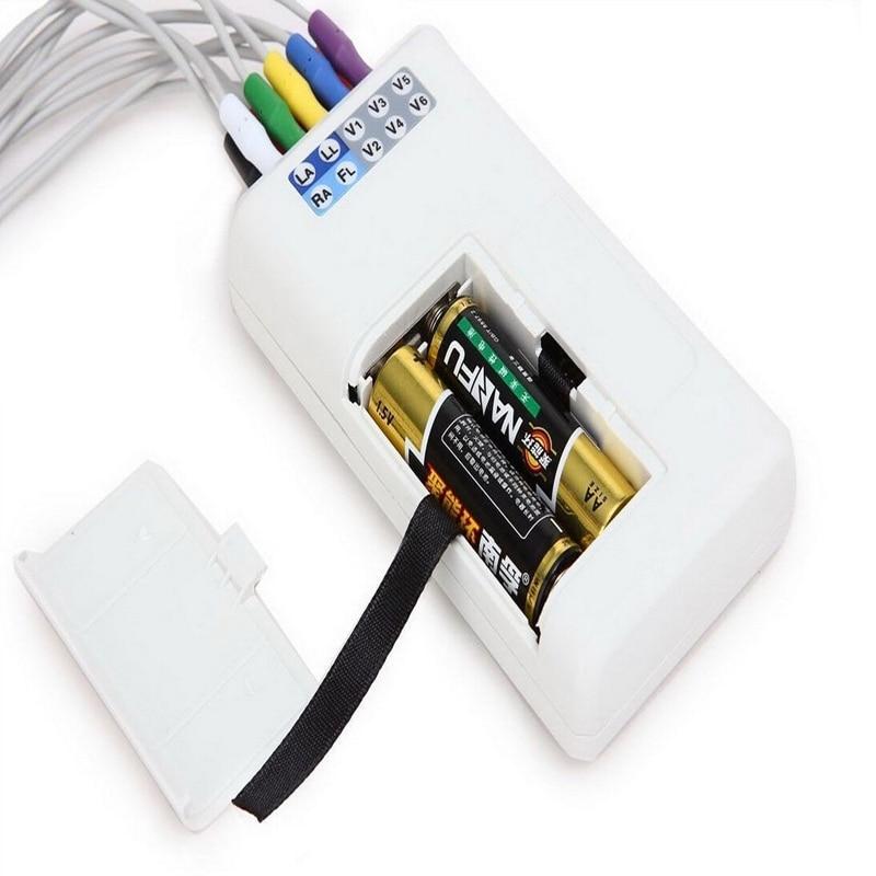 12 Kanal TLC5000 24 Saat EKG Holter, LCD Ekran Monitorinqi EKG - Səhiyyə - Fotoqrafiya 5