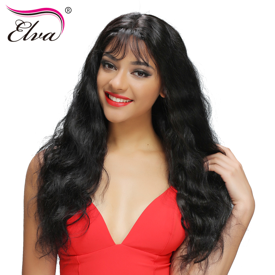 360 Lace Frontal Wigs Pre Plucked With Baby font b Hair b font Body Wave 180