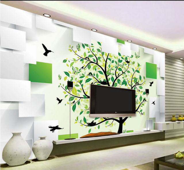 Wallpaper For Living Room 2014 2014 hot sale sale freeshipping papel de parede para sala