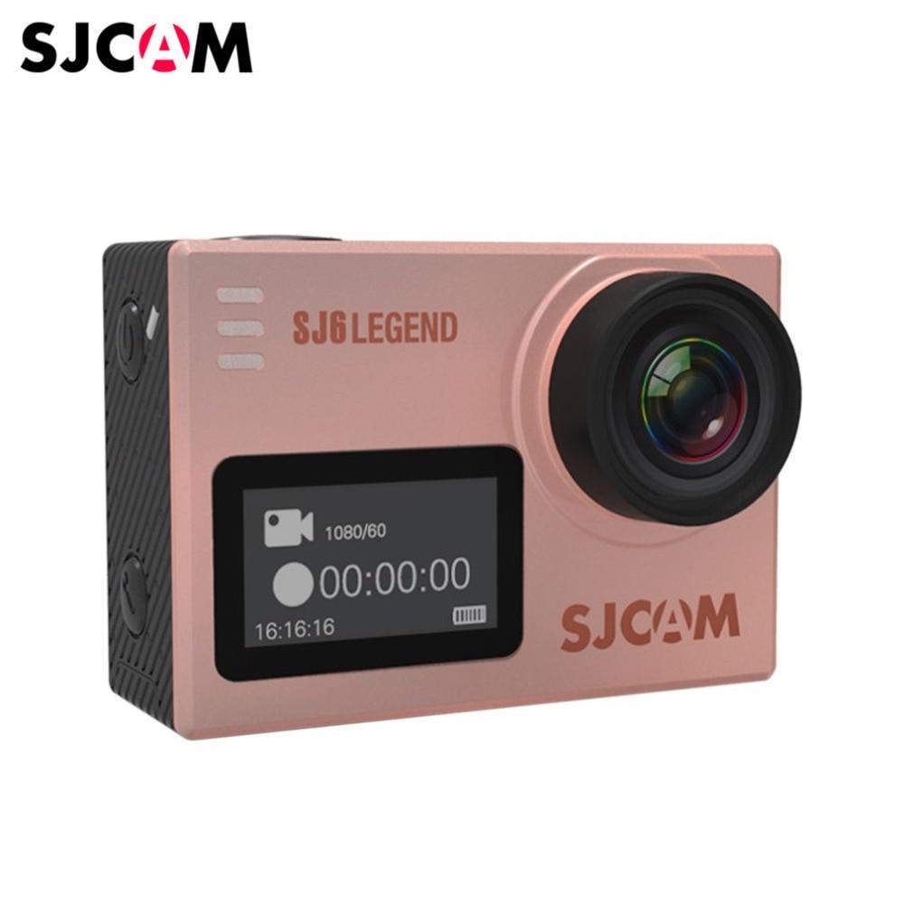 SJCAM SJ6 légende caméra de mouvement étanche DV caméra de sport 4 K HD caméra d'action avec écran tactile LCD 2.0 pouces