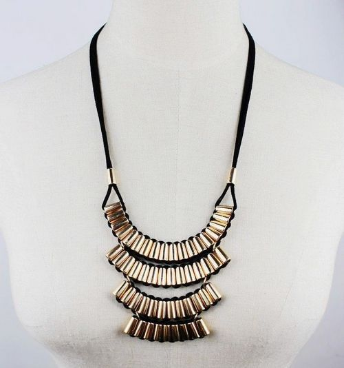 New Fashion Exaggeration Statement Necklaces&Pendants Jewelry For Women Wholesale YX344 Jewellery ABC