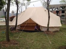 4M/5M/6M 5M Cotton Canvas Bell Tent Waterproof tipi tent with Stove Jacket & Buy canvas wall tent and get free shipping on AliExpress.com