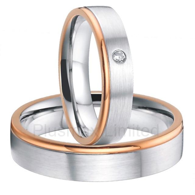 China Manufacturer high quality rose gold color custom titanium