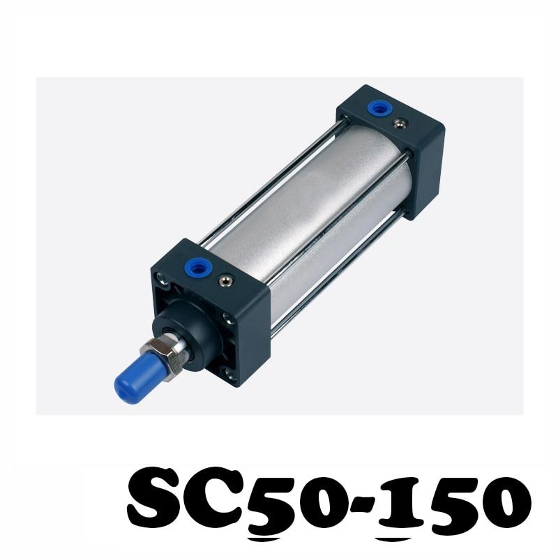 SC50-150  pneumatic components 50mm Bore 150mm Stroke Rod aluminum alloy standard cylinder SC50X150SC50-150  pneumatic components 50mm Bore 150mm Stroke Rod aluminum alloy standard cylinder SC50X150
