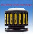 Бесплатная доставка супер пакет 16 шт 1 5 V AA 2400mWh литий-ионный Литий-полимерный перезаряжаемый аккумулятор + многофункциональное быстрое заря...