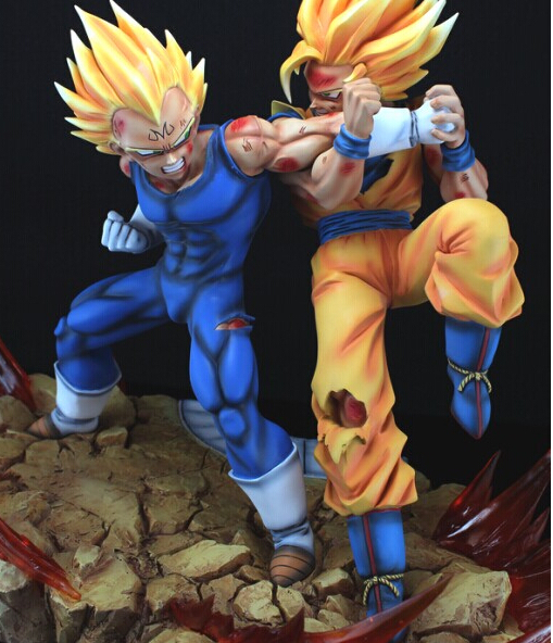 Brinquedos Meninos Boy Dragon Ball Dragonball Figure Battle Goku Vs Vegeta Resin Action Figure Model Collection Toy Gift In Action Toy Figures From Toys