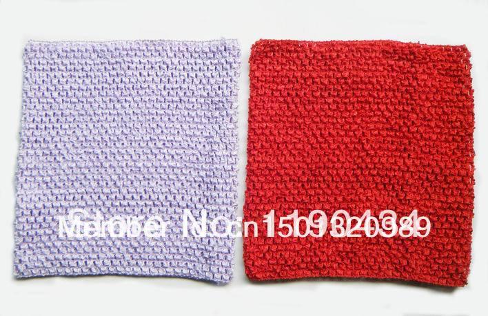 12inches kukičanih cijevi vrh tutu top 10x12inch kukičanje traka za - Odjeća za bebe - Foto 6