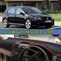 car dashmats car-styling accessories dashboard cover for VW Volkswagen golf Golf5 MK5 GTI 2003 2004 2005 2006 2007 2008 2009 RHD