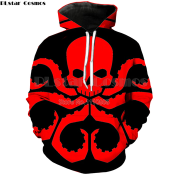PLstar Cosmos Marvel HYDRA Men's Hoodies Sweatshirts 3D Printed Funny Hip HOP Hoodies Novelty Streetwear Hooded Autumn Jackets autumn winter fashion popular marvel movie venom 3d printed hoodies with pocket men hooded sweatshirts hip hop dropshopping