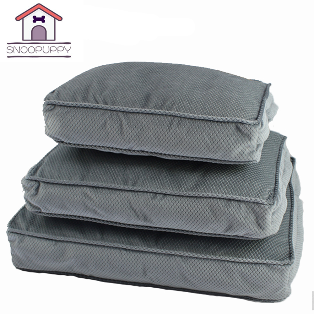 Dog Pet Bed Mats Soft PP Cotton Pillow Removable Cover Dog Beds For Pets Cats Rest And S ...