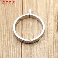 Мужской Целомудрие Металл Петух кольцо 5 Размеры взрослых поставляет Нержавеющаясталь Целомудрие посвящен старый стопорное кольцо секс-и...