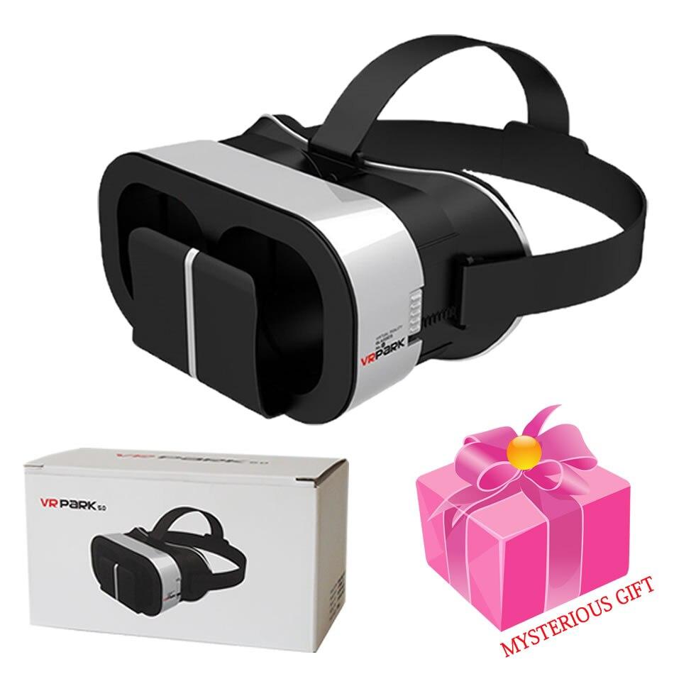 2017 New Arrivals <font><b>PARK</b></font> <font><b>5.0</b></font> Google Cardboard <font><b>VR</b></font> <font><b>Virtual</b></font> <font><b>Reality</b></font> HD 3D <font><b>Glasses</b></font> Smartphones 4.7-6.0 Inch Add 4.0 Bluetooth Control