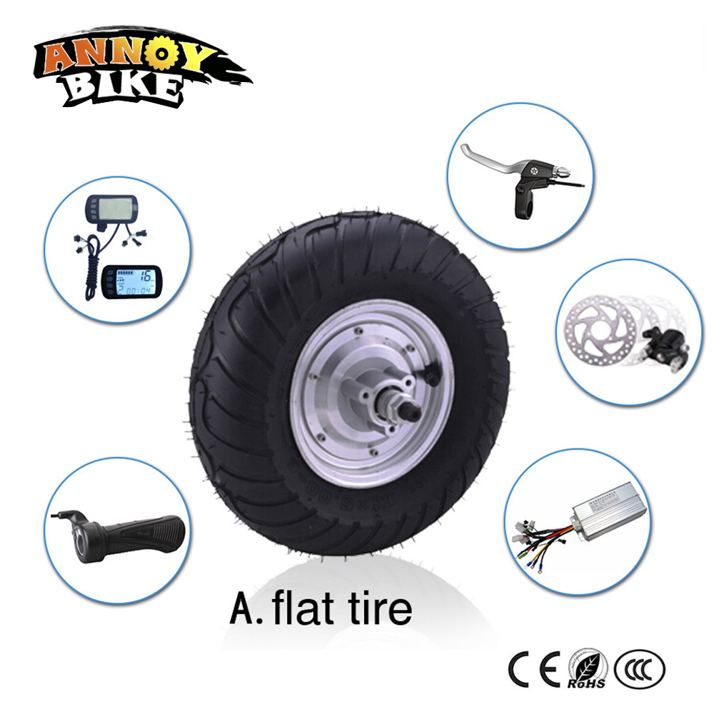 High speed powerful brushless 13inch electric wheel motor for Most powerful brushless motor