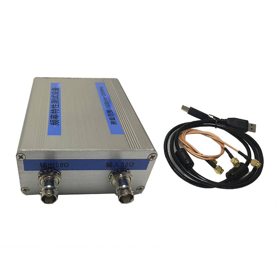 NWT200 50KHz~200MHz Sweeper Network Analyzer Filter Amplitude Frequency Characteristics Signal Source