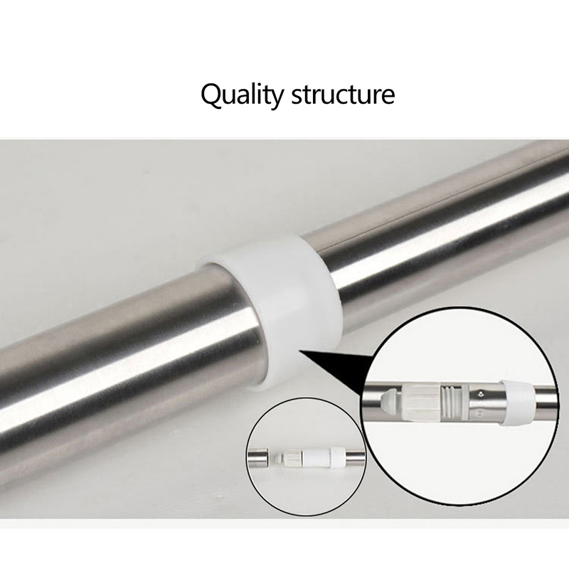 Adjustable Shower Curtain Pole Rod Hanger Thickened Stainless ...