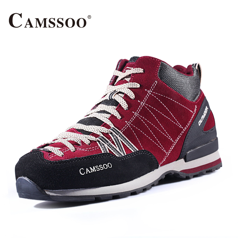 Camssoo Brand Hiking Shoes Men New Arrival High Quality Mens Athletic Shoes Size Eu 39-44 AA50165 купить