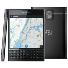 Original Unlocked BlackBerry passport Q30 LTE cell Phone BlackBerry OS 10.3 Quad core 3GB RAM 32GB ROM 13MP Camera Mobile phone