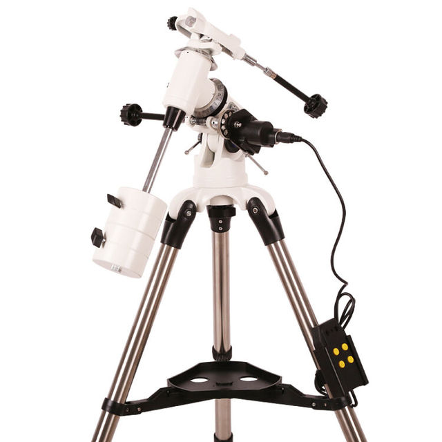 Cheap  EM60 stainless steel tripod  equatorial telescope astronomical high stable imaging times accessories white electric