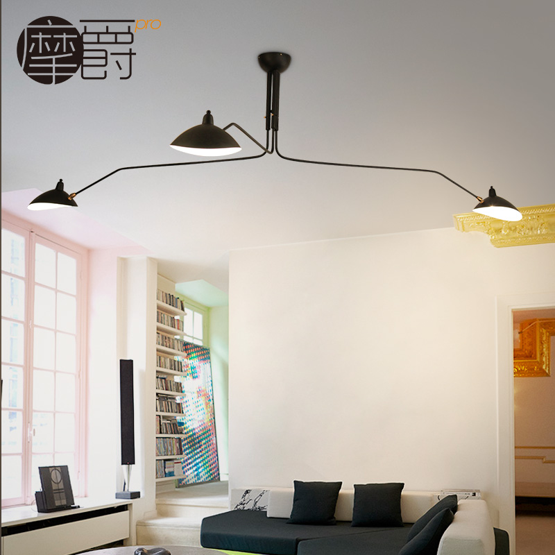 Modern Creative Swing Arm Crazy Design Ceiling Light Surface Mounted Light  Fixtures for Living Room Study Dining Room -in Ceiling Lights from Lights  ...