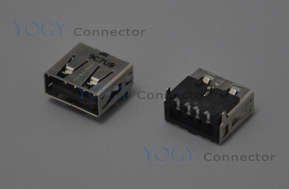 10pcs 12mm Female USB Jack Connector Socket, Commonly used in HP DELL ASUS LENOVO, and o ...