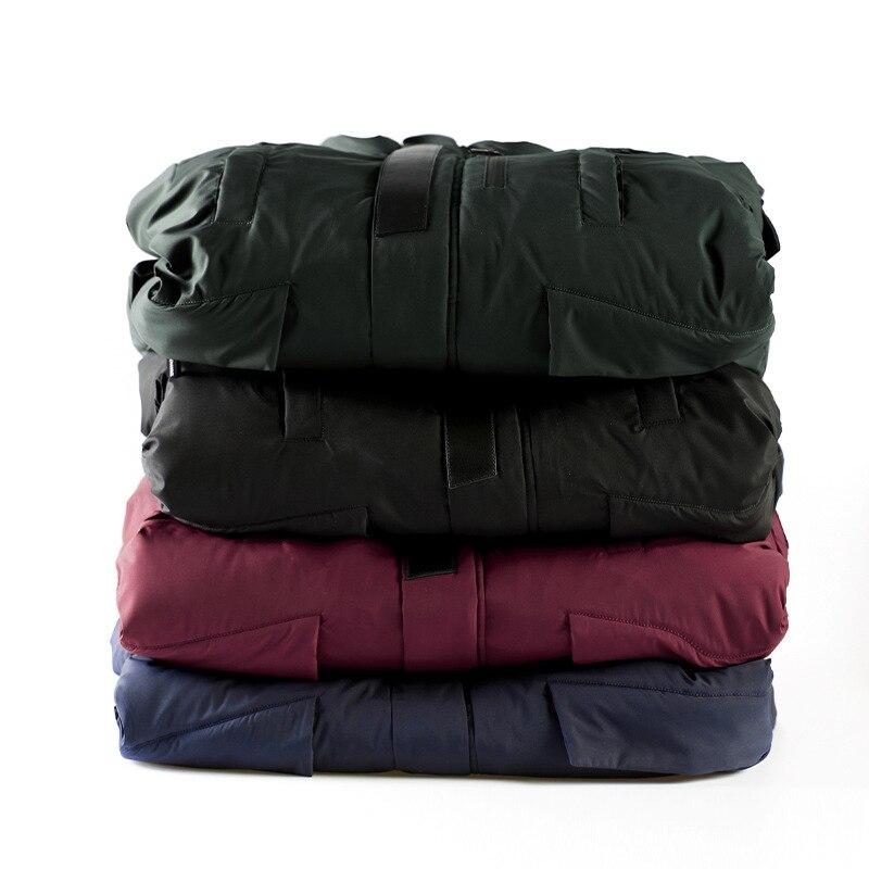 New Winter Jacket Men Slim Thick Parkas Men  Warm Top Quality Waterproof Zipper Clothes For Men Fashion Winter Coats