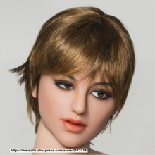 NEW WMDOLL Head For Silicone Sex Doll  from 140-172 body  For Men