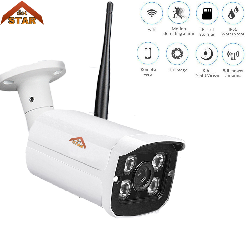 Stardot 720P WiFi IP Camera Wi-Fi APP Network CCTV Outdoor Wireless Camera Waterproof IP66 Night Vision Motion Alert HD Webcam