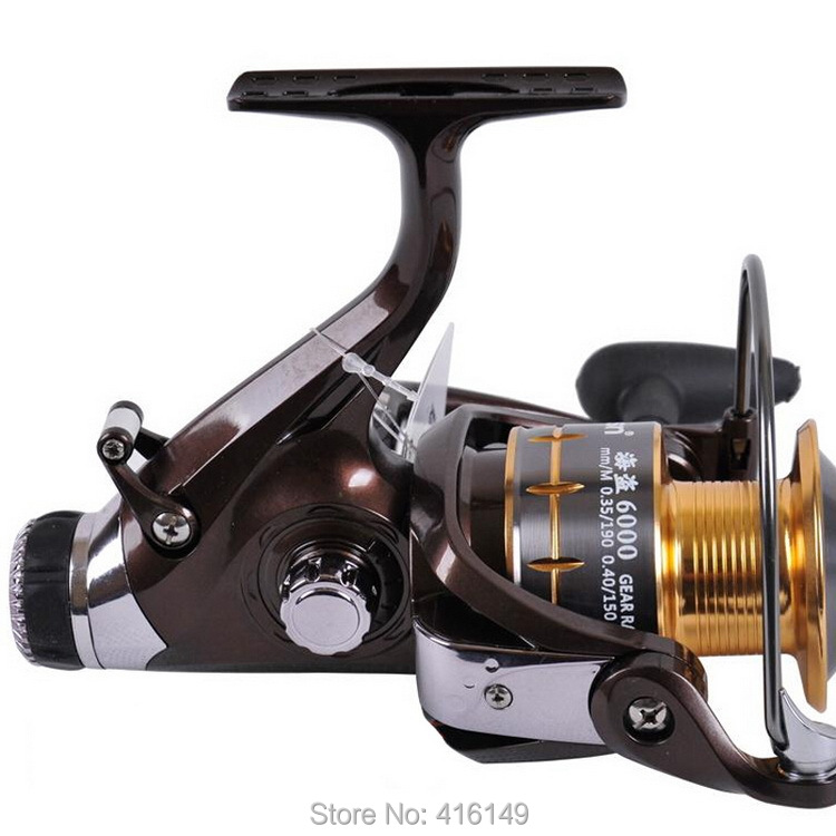 ФОТО RISN BAITRUNNER CARP FISHING REEL 5000 6000