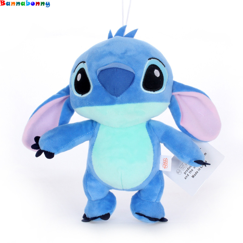 1pcs High Quanlity Kawaii Stitch Plush Doll Toys Anime Lilo And Stitch 20/24CM Stich Plush Toys For Children Kids Birthday Gift